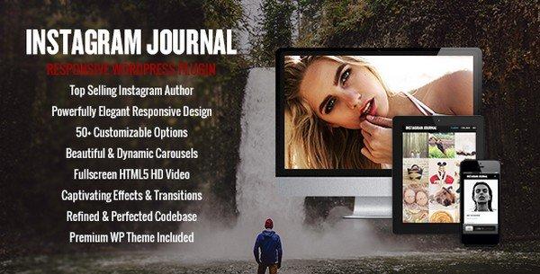 Instagram Journal is a WordPress plugin to showcase your Instagram feed.