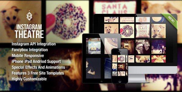 Instagram Theatre is a Instagram gallery and portfolio WordPress plugin.