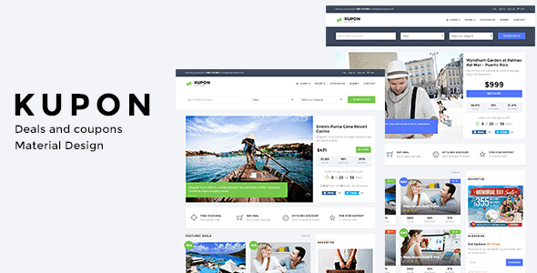 KUPON is great WordPress coupon theme with a variety of options.