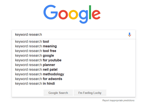 Missing to Optimize Keywords for Blogs