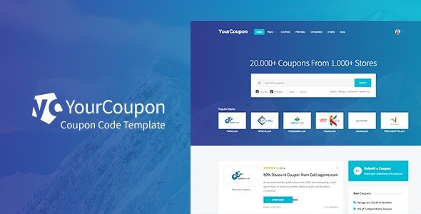 Yourcoupon is an elegant WordPress theme for discounts and deals.