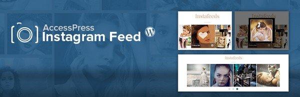 Instagram WordPress Plugins Worth Installing - AccessPress Instagram Feed is a free Instagram WordPress plugin.