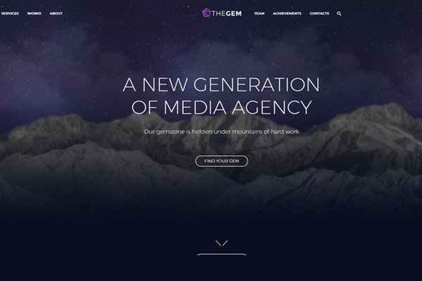 The Gem is a fast loading and mobile friendly WordPress theme.