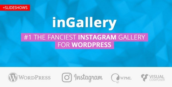 inGallery is a great Instagram feed, photo, and video WordPress plugin.