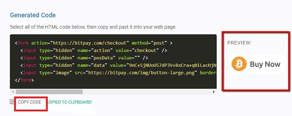 Copy the Code and paste it on your WordPress page.