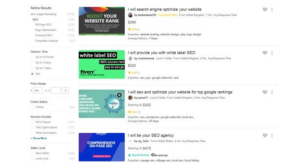 There are sellers on Fiverr who make serious money.