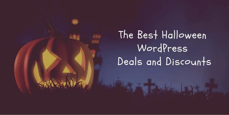 Best Halloween WordPress Deals 2018
