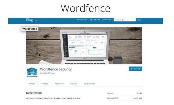 Install a WordPress security plugin such as Wordfence to keep your site secure.