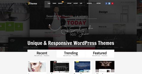 7Theme WordPress Themes