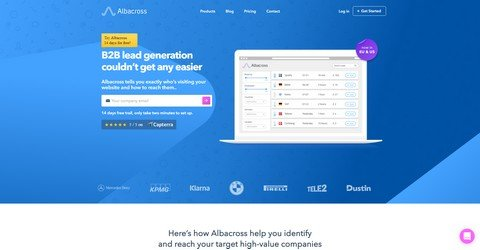 Albacross help you identify and reach your target high-value companies.
