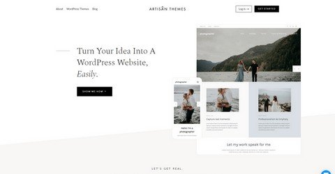 Artisan WordPress Themes