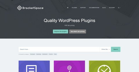 BracketSpace WordPress Plugins