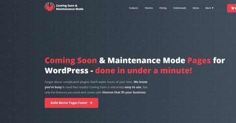 Coming Soon & Maintenance Mode WordPress Plugin