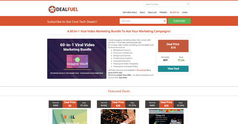 DealFuel Best WordPress Deals.