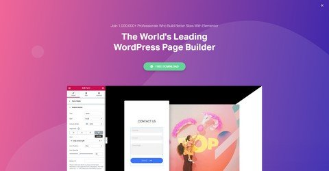 Elementor WordPress Plugin.