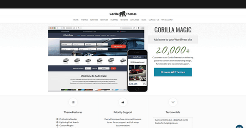 Gorilla Themes WordPress Themes