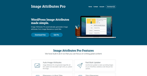 Image Attributes Pro WordPress Plugin