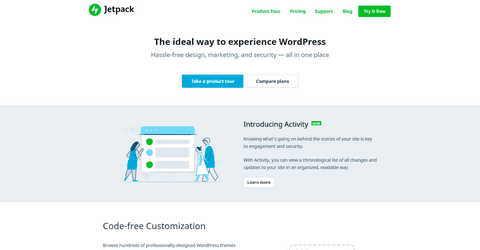 Jetpack WordPress Plugin.