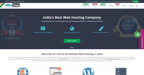 MilesWeb Web Hosting.