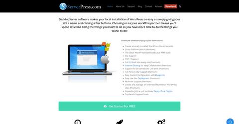 ServerPress tool and service.