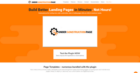 UnderConstructionPage Pro WordPress Plugin