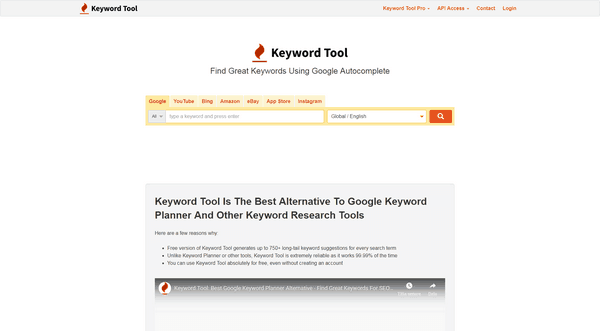 With the Keyword planner tool you can research keywords.