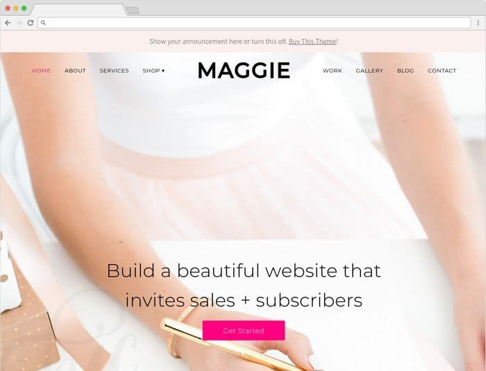 Maggie is a powerful, and purposeful WordPress theme.