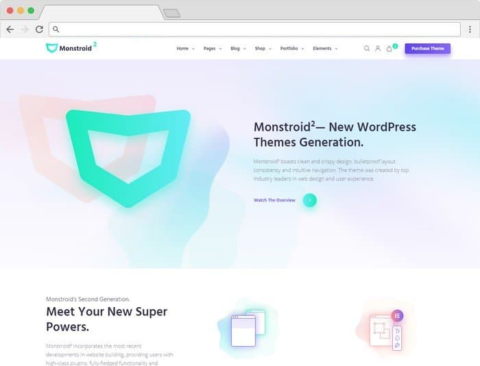 Monstroid2 is a multipurpose WordPress theme.