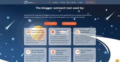 Outreach.Buzz tool.
