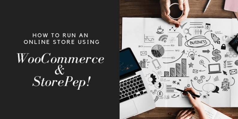 Run an Online Store using WooCommerce and StorePep
