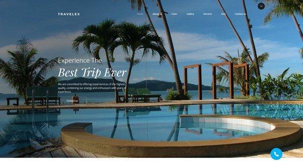 Travelex Travel Agency Website