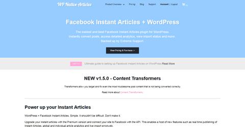 WP Native Articles WordPress Plugins