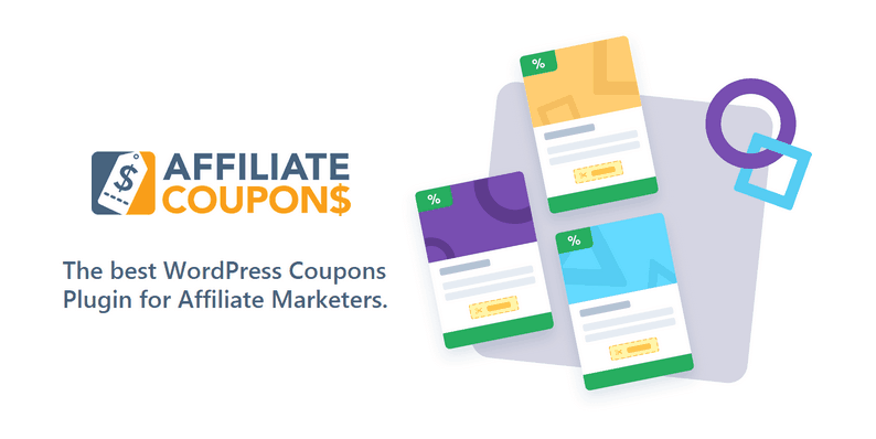 Affiliate Coupons WordPress Plugin For WordPress Affiliate Marketers