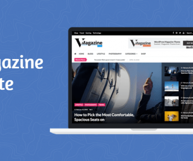 VMagazine Lite - A Free Multi Layout News Magazine WordPress Theme