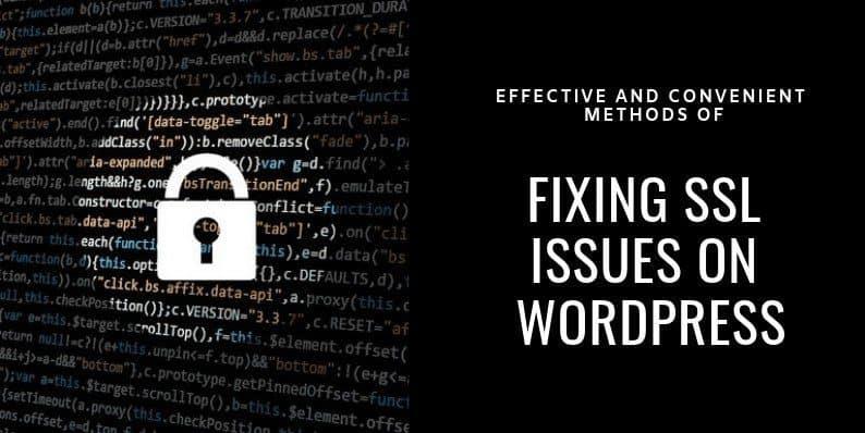 Methods of Fixing SSL Issues on WordPress