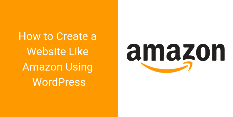 reate a Website Like Amazon Using WordPress