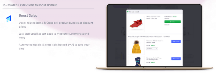 With Beeketing for WooCommerce you can integrate several WooCommerce marketing tools.