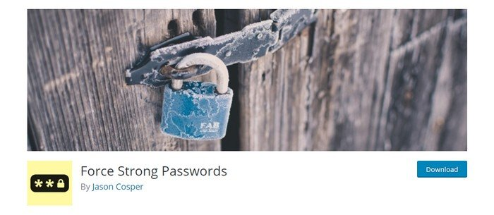 It is important to use strong passwords.