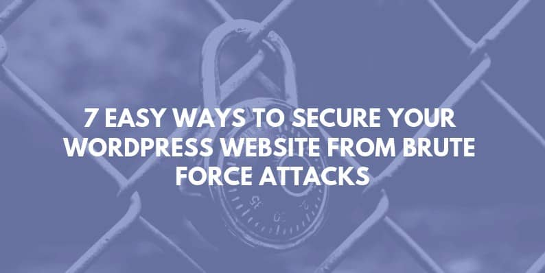 Ways to Secure Your WordPress Website