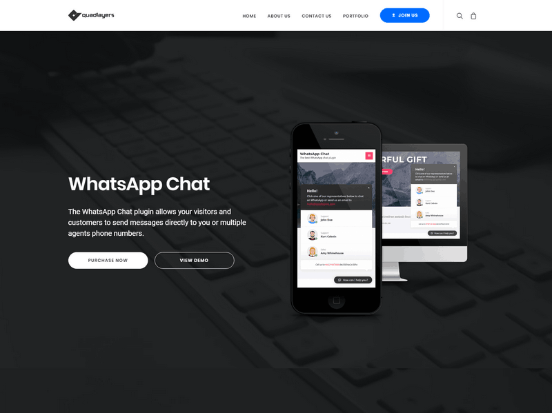 WhatsApp Chat – WordPress Communication Has Never Been Easier
