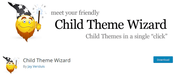 With the Child Theme Wizard plugin you can create a child theme.