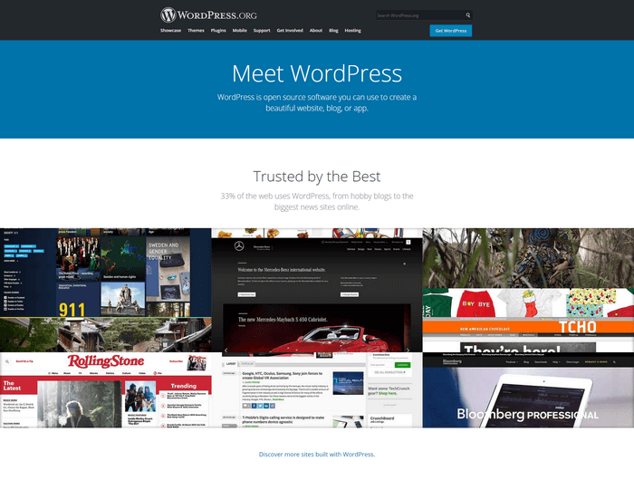 WordPress.org is the self-hosted version of the WordPress.