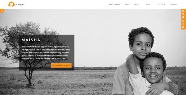 Maisha is Anariel Design's best-selling WordPress theme