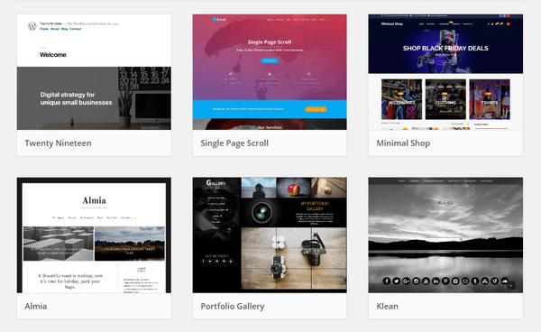Infinity of WordPress Themes