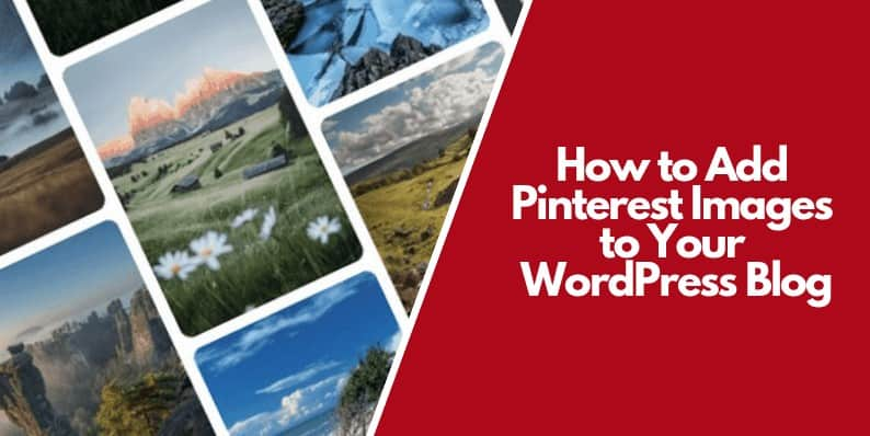 Add Pinterest Images to Your WordPress Blog.