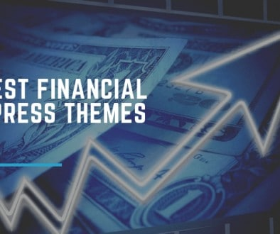 Best Financial WordPress Themes.