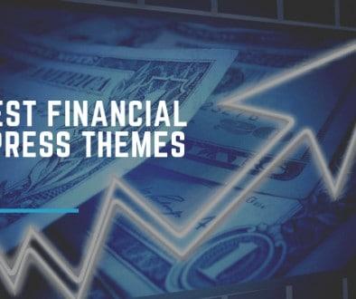 Best Financial WordPress Themes.