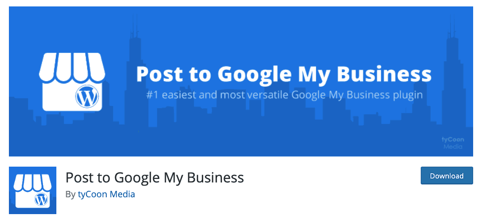 Post to Google my Business