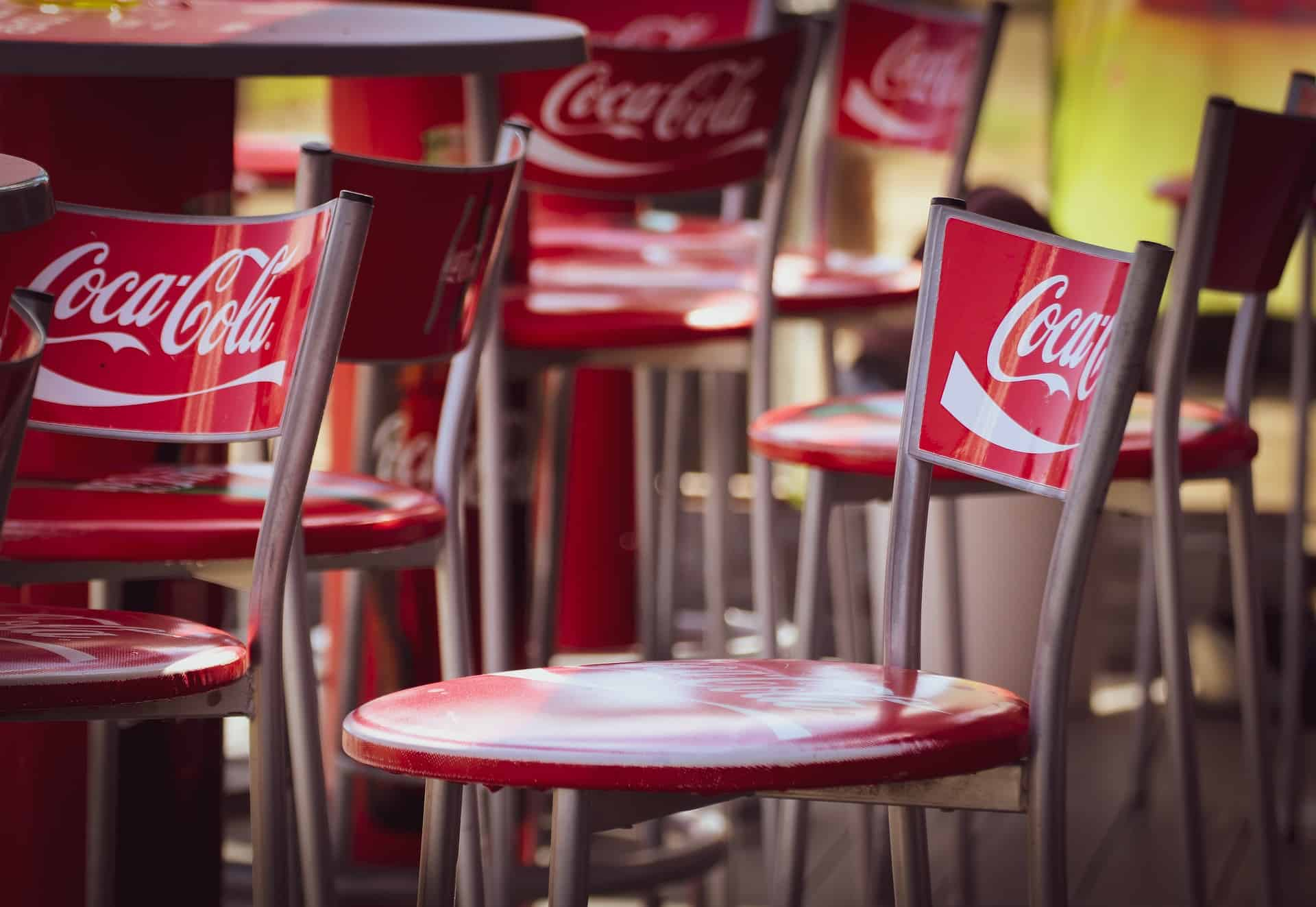 Coca Cola On Chairs