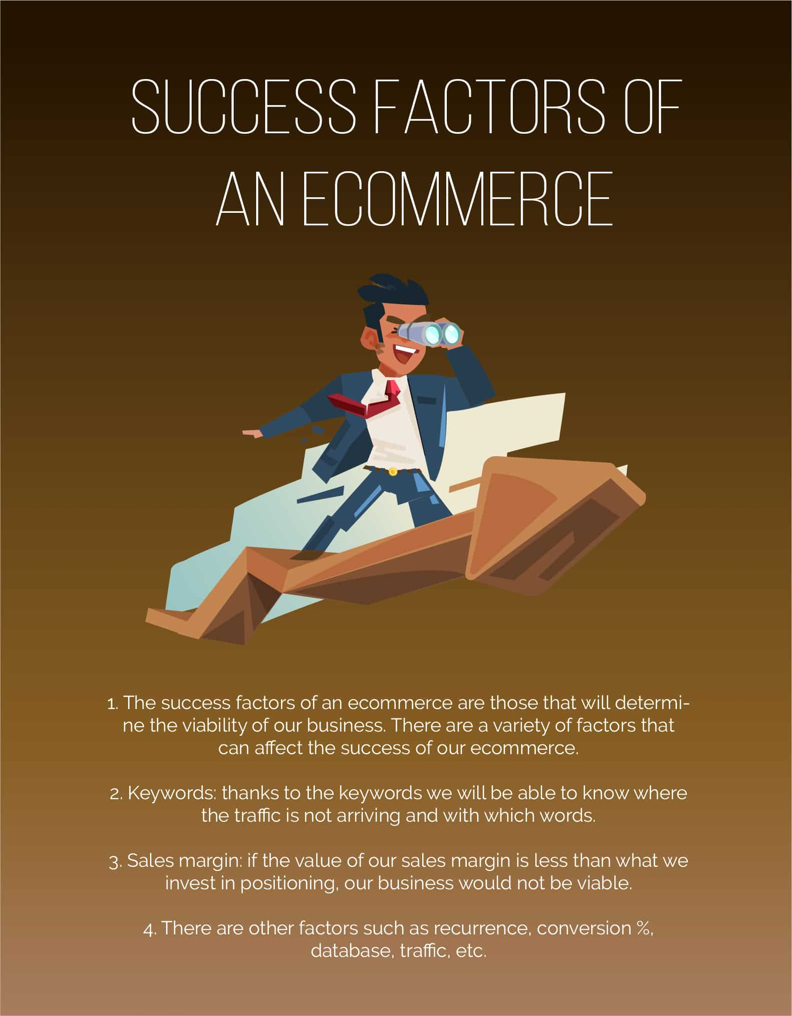 Success factors for ecommerce